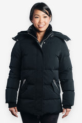 Woodpecker Women&#39 s Bumnester 3/4 Jacket in Black