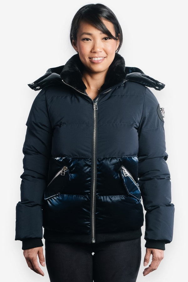 Woodpecker Women&#39 s Woody Bomber in 2-Tone Navy