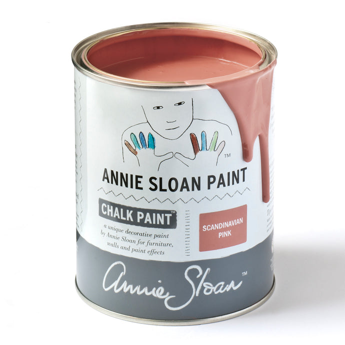 Scandinavian Pink Chalk Paint