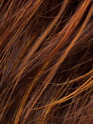 HOT HAZELNUT MIX | Medium Brown base with Medium Reddish Brown and Copper Red highlights