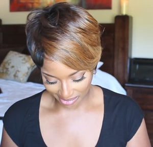 2020 New Fashion Summer Natural Pixie Cut Wig