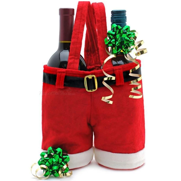 Last Day Promotion Only $3.99-Santa Claus Pants Gift Bag
