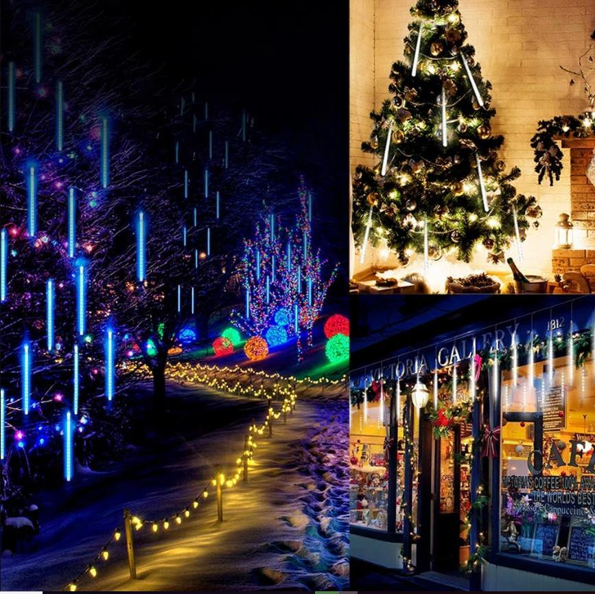 CHRISTMAS Lights-Snow Fall LED Lights(8 Tubes)