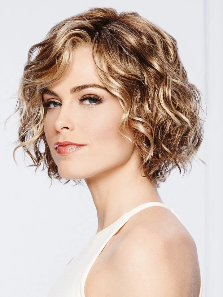 (45%OFF SALE)2020 New Brown Gold BOB Short Wig