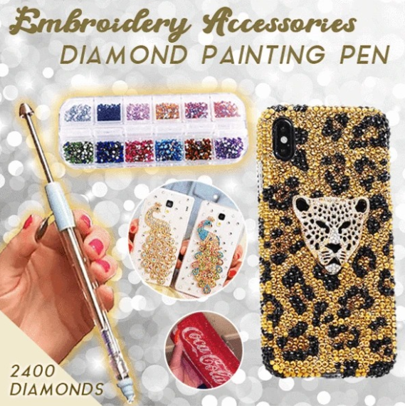 Embroidery Accessories Diamond Painting Tools--Girls Must Have!!!