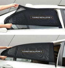 Load image into Gallery viewer, Best Universal Car Window Sun Shade---Protect Your Back Seat With 80% UV Protection!
