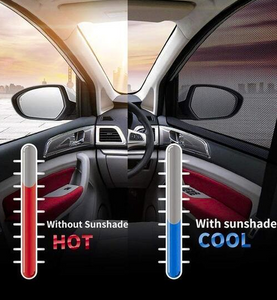 Best Universal Car Window Sun Shade---Protect Your Back Seat With 80% UV Protection!