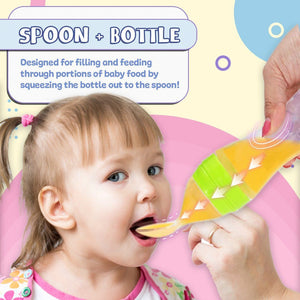 Baby Spoon Bottle Feeder---Funning and Easily!!!