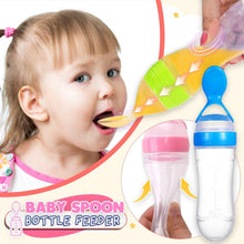 Load image into Gallery viewer, Baby Spoon Bottle Feeder---Funning and Easily!!!