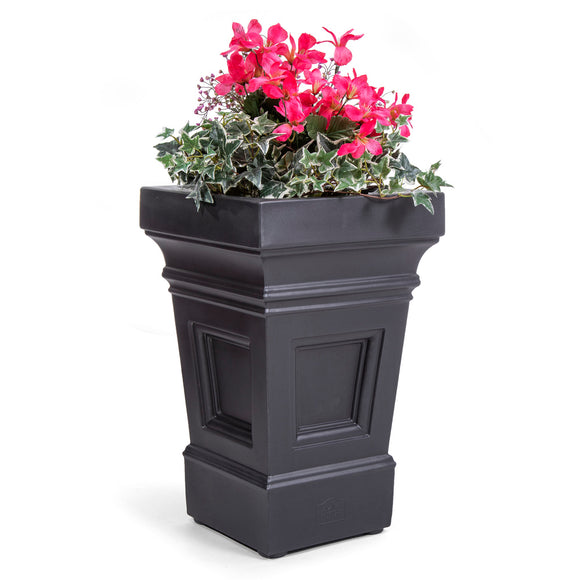 Atherton Planter Box 1 Pack (Onyx Black)