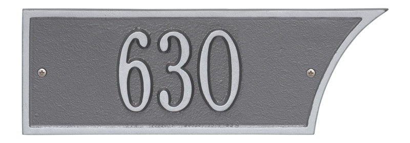Pewter/Silver Plaque