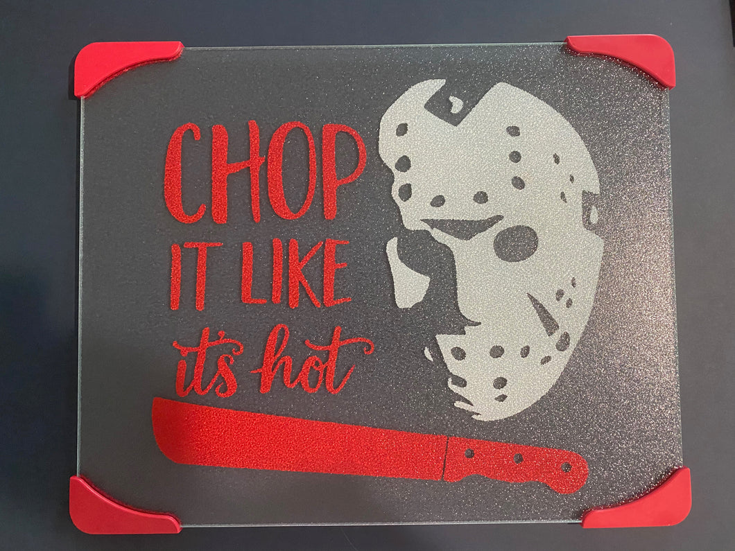 Jason, Friday the 13th, Glass Cutting Boards