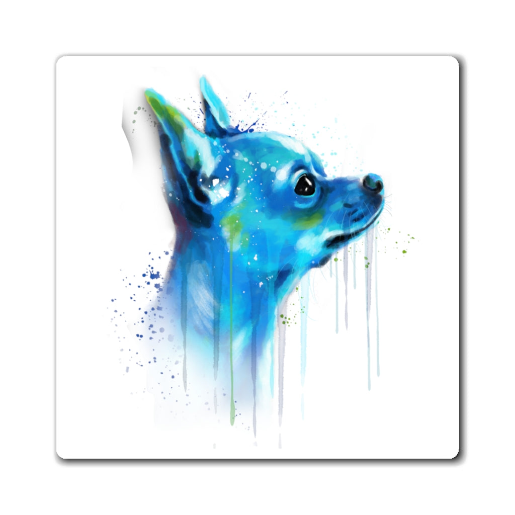 Chihuahua Watercolor Magnet