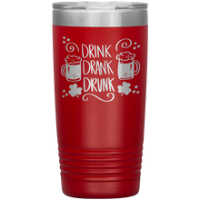 Load image into Gallery viewer, Drink Drank Drunk, 20oz Tumbler