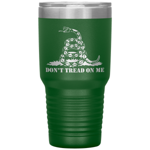 Don't Tread on Me Snake Tumbler