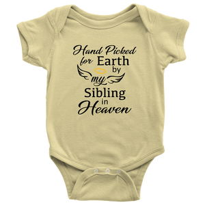 Hand Picked for Earth, Onesie