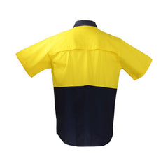 HWA59 - Hi Vis Work Shirt Short Sleeve