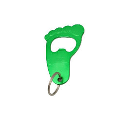 HWH20 - FOOTPRINT KEYCHAIN WITH BOTTLE OPENER