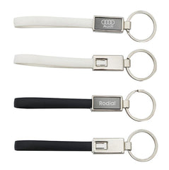 HWE11 - APPLE/ANDROID TWO-IN-ONE CABLE KEYCHAIN