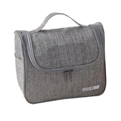 HWB55 - ZIPPERED TOILETRY BAG WITH SIDE POCKETS FOR TRAVEL