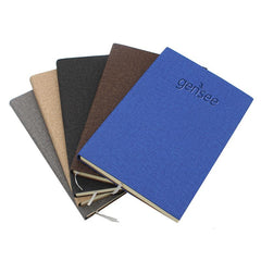 HWOS159 - A5 NOTEBOOK WITH TEXTURED COVER