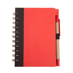 HWOS120 - ECO-FRIENDLY NOTEBOOK WITH PEN