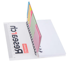 HWOS57 - NOTEPAD SET WITH RULER DESIGN