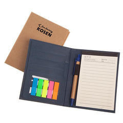 HWOS149 - NOTEBOOK SET WITH PET STICKY FLAG PADS