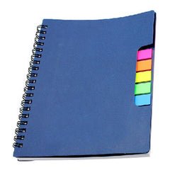 HWOS117 - OFFICE NOTEBOOK WITH COLOURFUL STICKY FLAGS SET