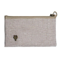 HWOS95 - COTTON PENCIL CASE WITH TREE DESIGN