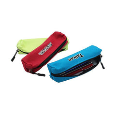 HWOS54 - SMALL RECTANGULAR ZIPPERED CANVAS PENCIL CASE