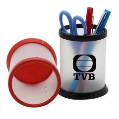 HWOS10 - DIY PLASTIC PEN HOLDER IN RED OR BLACK