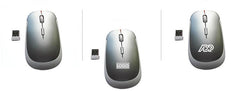 HWE15- 2.4GHZ ULTRA THIN WIRELESS MOUSE