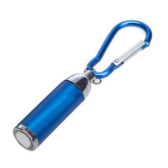 HWH28 - COLOURED MINI TORCH LIGHT WITH MATCHING CARABINER