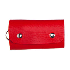HWB16 - FAUX LEATHER KEY HOLDER POUCH
