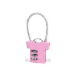 HWH55 - SHIRT-SHAPED LUGGAGE LOCK