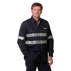 HWA64 - COTTON DRILL WORK SHIRT