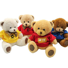 HWTP06 - BEAR PLUSH TOY WITH BOW