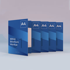 Brochures - A4 Bifold (A3 folded in half to A4)