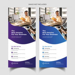 DL flyers - Printed 2 sides on 150gsm gloss