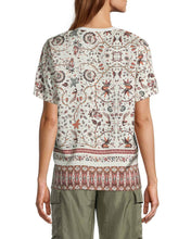 Load image into Gallery viewer, JAKARTA PRINT SILK OVERSIZED T-SHIRT