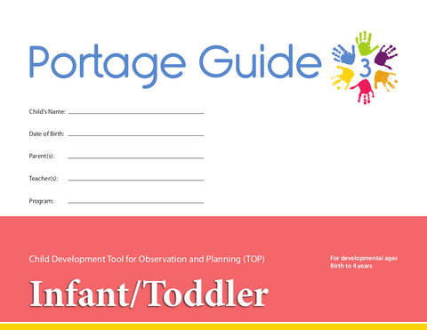 Portage Guide 3 - TOP Checklists (Set of 20) - Infant/Toddler (English)