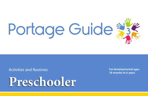 Portage Guide 3: Preschooler - Complete Kit (English)