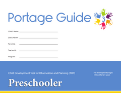 Portage Guide 3 - TOP Checklists (Set of 20) - Preschooler (English)