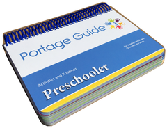 Portage Guide 3 - Preschooler Activities & Routines Resource Book (English)