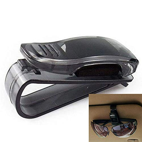 Universal Sun Visor Glasses and Sunglasses Holder
