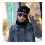 Knit Skully & Scarf Set