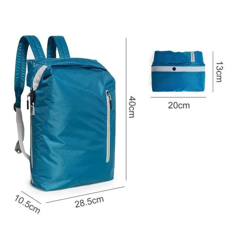 Lightweight, Foldable, Sporty, Water Resistant, Travel  Backpack