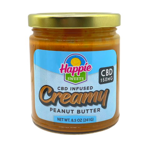 happie sweets cbd creamy peanut butter