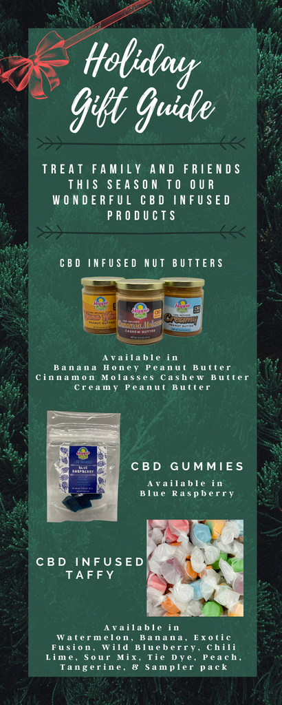 Holiday gift guide cbd happie sweets